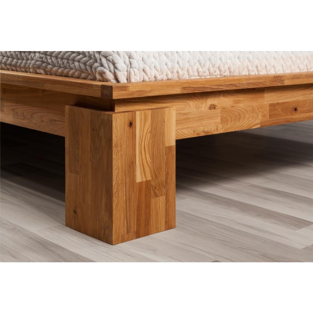 volo high doppelbett 180x200 wildeiche massiv ge lt kaufen m bel shop empinio24. Black Bedroom Furniture Sets. Home Design Ideas