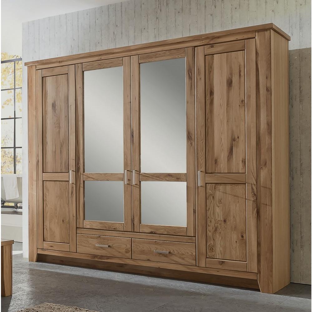 toronto schlafzimmer schrank 4 trg bett 200x200 kaufen m bel shop empinio24. Black Bedroom Furniture Sets. Home Design Ideas