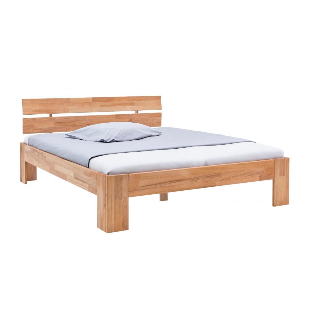 alice 2 doppelbett 160x200 kernbuche massiv ge lt kaufen. Black Bedroom Furniture Sets. Home Design Ideas