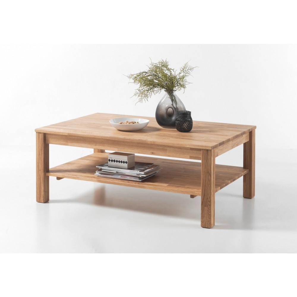 lyon couchtisch mit ablage 115x75 cm eiche ge lt kaufen. Black Bedroom Furniture Sets. Home Design Ideas
