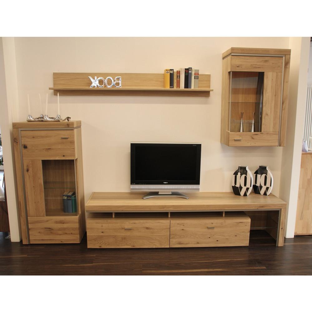 basel wohnwand 15 alteiche teilmassiv kaufen m bel shop. Black Bedroom Furniture Sets. Home Design Ideas