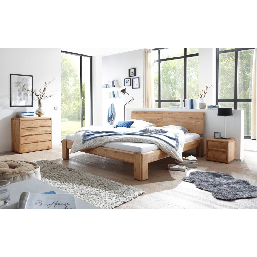 verona bett 200x220 wildeiche massiv ge lt berl nge kaufen m bel shop empinio24. Black Bedroom Furniture Sets. Home Design Ideas
