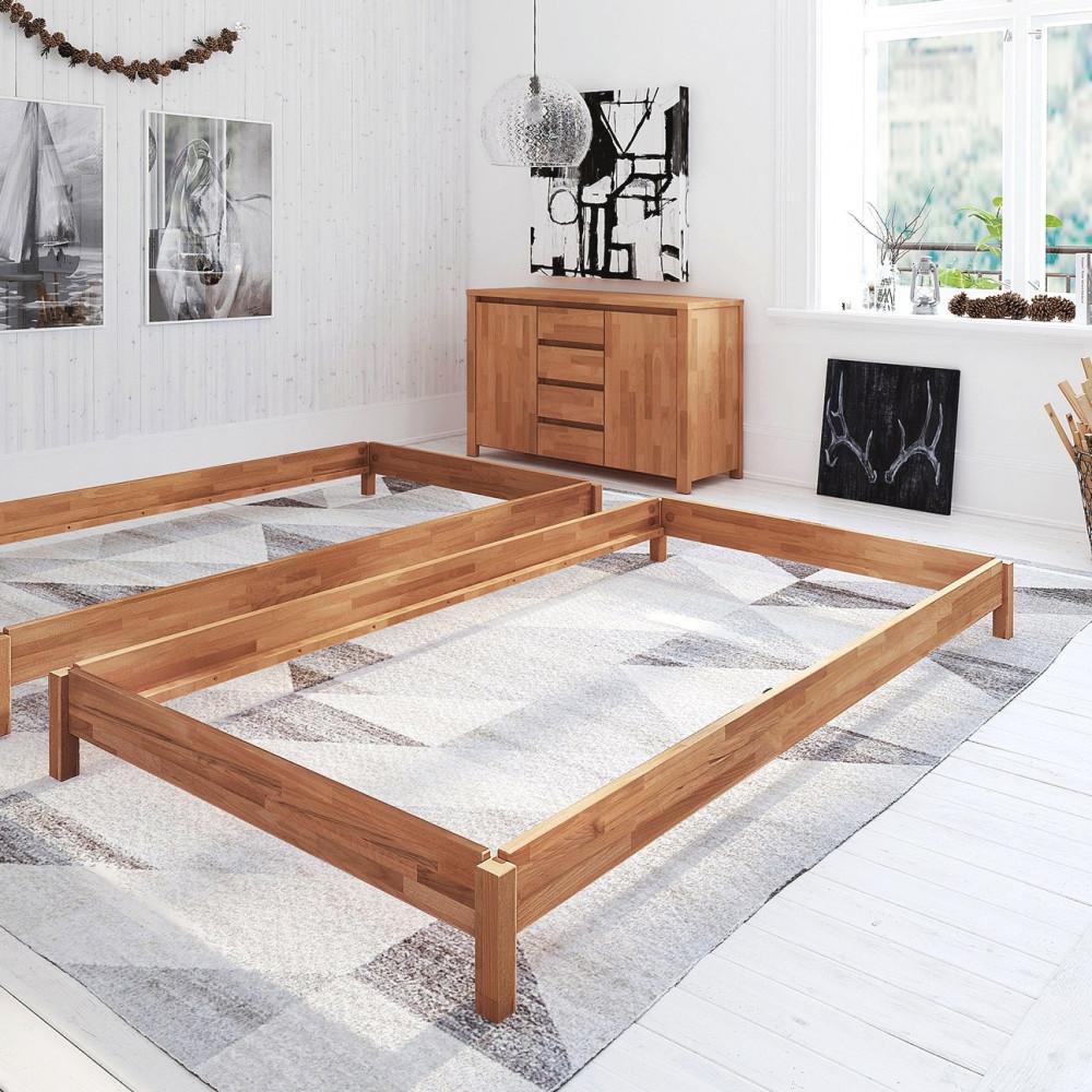 borkum stapelbett 90x200 kernbuche tfk matratze kaufen m bel shop empinio24. Black Bedroom Furniture Sets. Home Design Ideas