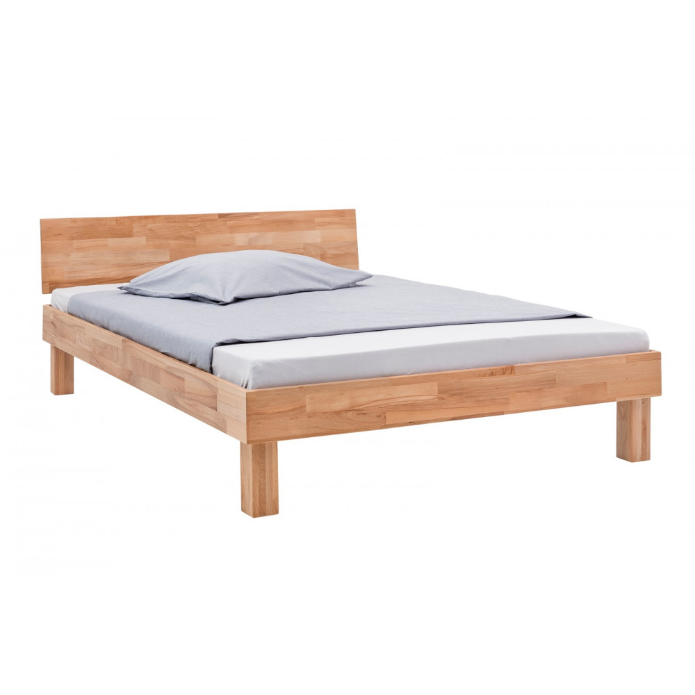celine bett 140x200 mit bettschublade kernbuche massiv ge lt kaufen m bel shop empinio24. Black Bedroom Furniture Sets. Home Design Ideas