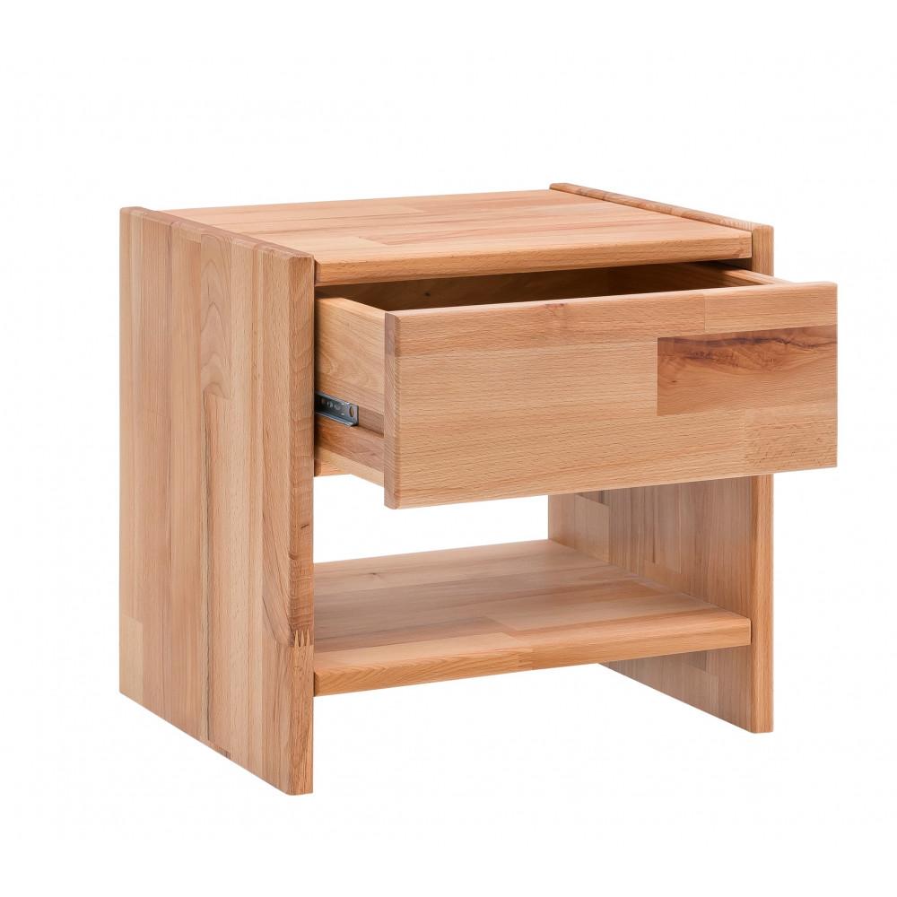 celine nachtkommode kernbuche massiv ge lt kaufen m bel shop empinio24. Black Bedroom Furniture Sets. Home Design Ideas
