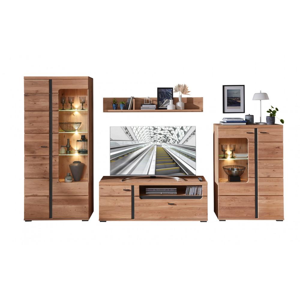 Wohnwand aus Eiche online kaufen   Empinio24