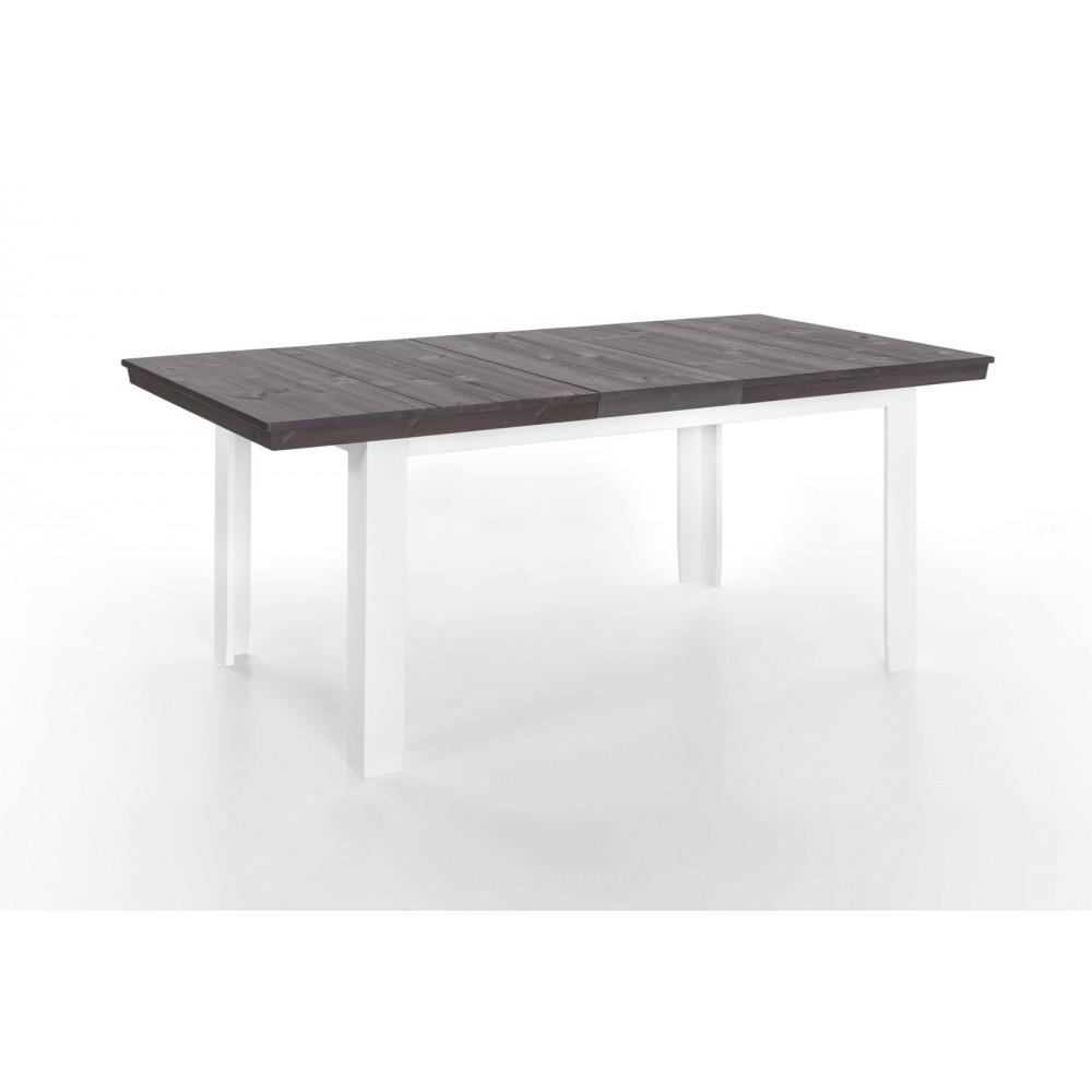 lavente esstisch 140 210x90 ausziehbar kiefer teilmassiv wei tr ffel 4x st hle kaufen. Black Bedroom Furniture Sets. Home Design Ideas