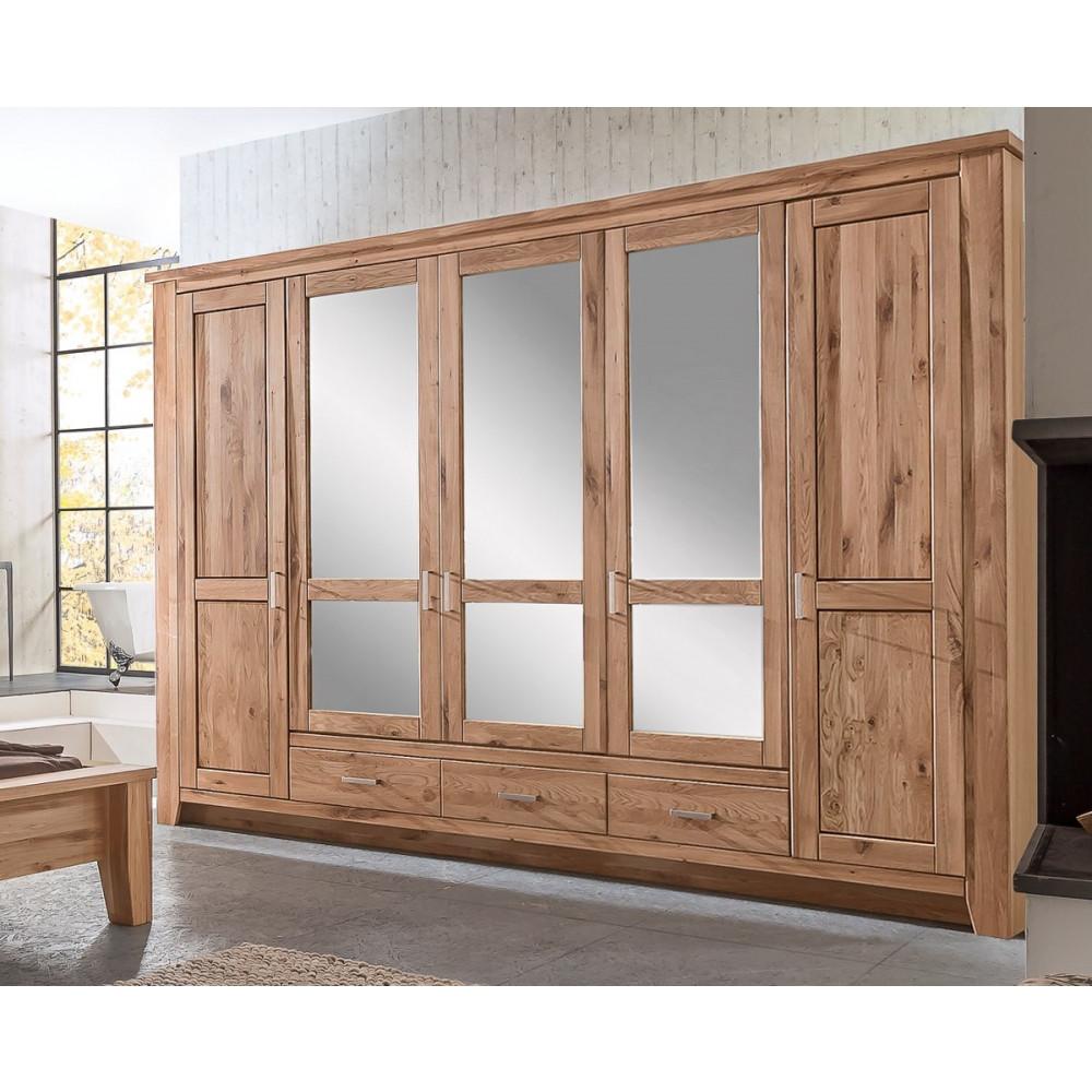 toronto schlafzimmer set schrank 5 trg bett 200x200 asteiche kaufen m bel shop empinio24. Black Bedroom Furniture Sets. Home Design Ideas