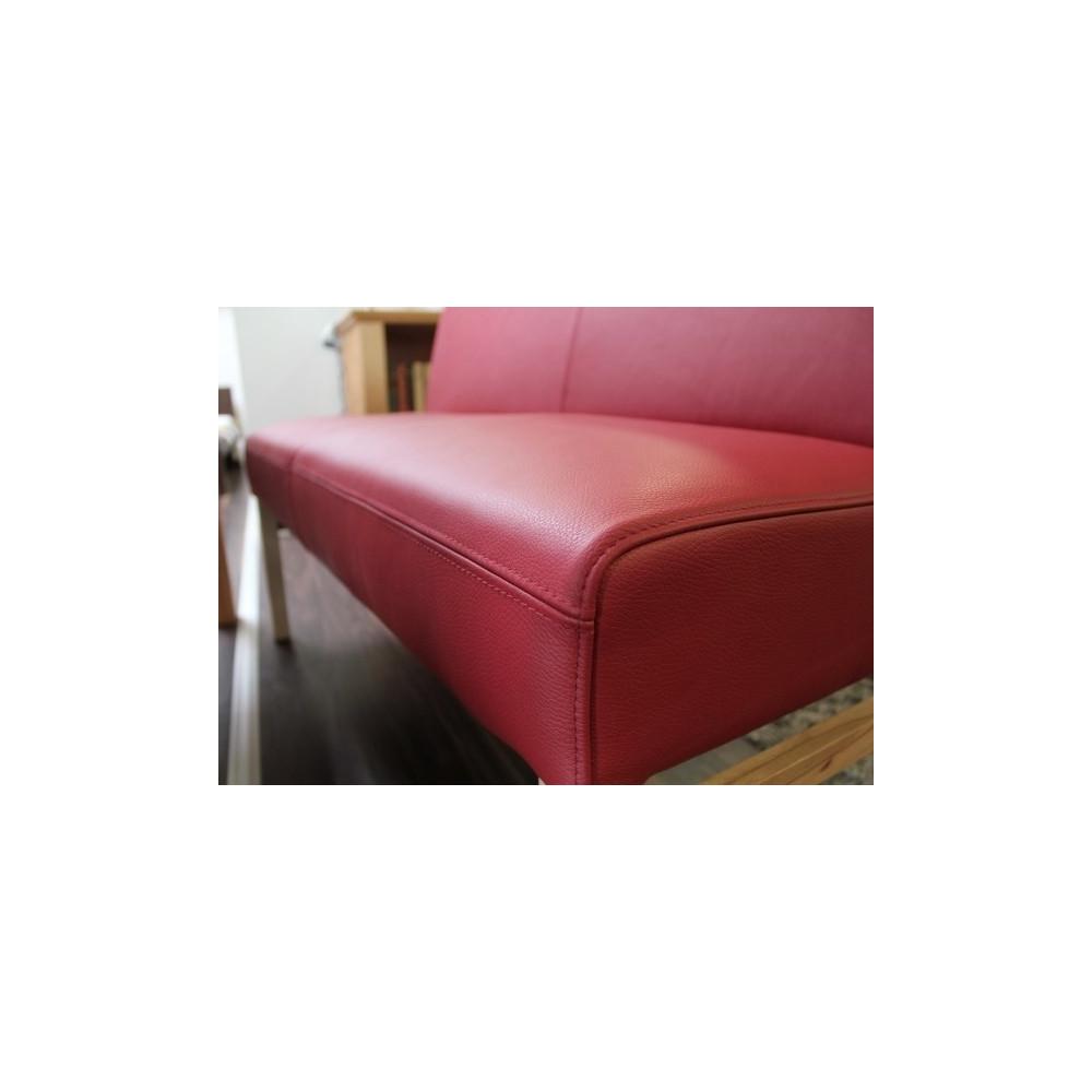 sophie sitzbank 90 cm in echtleder farbe w hlbar kaufen m bel shop empinio24. Black Bedroom Furniture Sets. Home Design Ideas