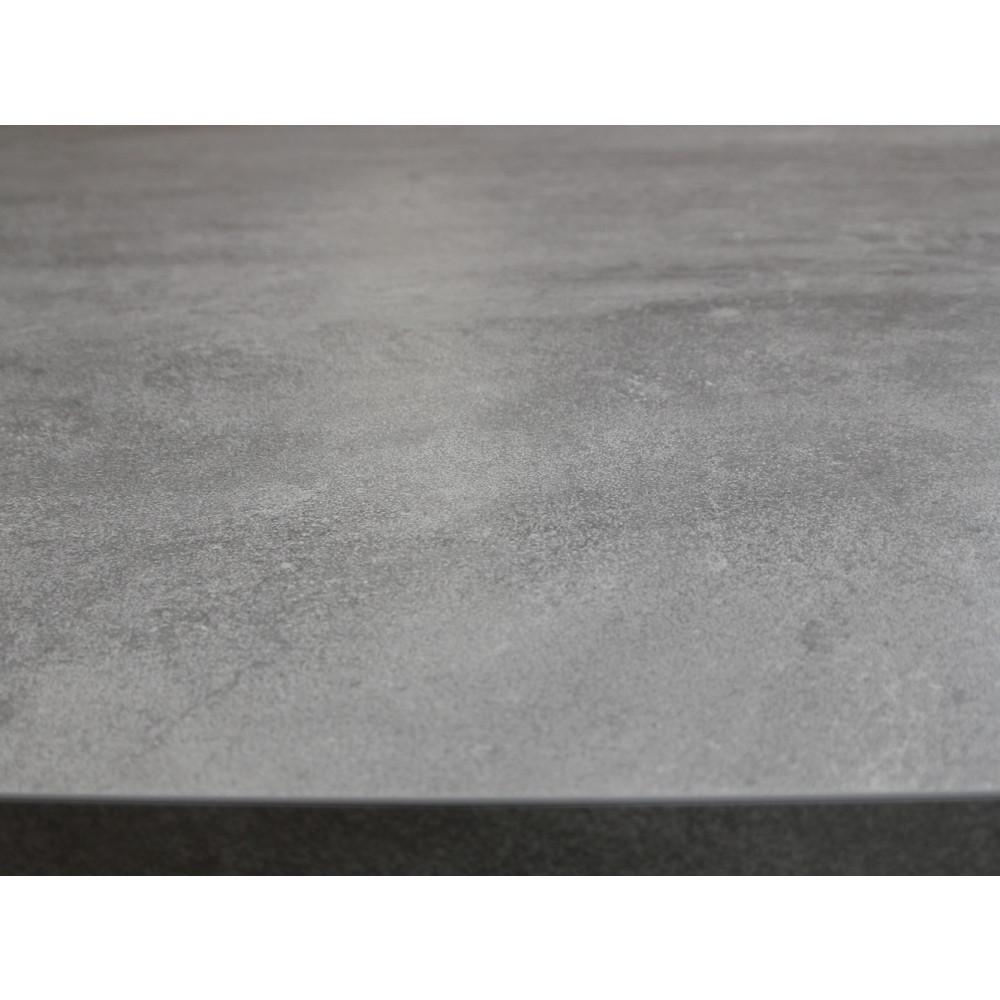 nizza gastro esstisch 80x80 beton optik kaufen | möbel shop empinio24