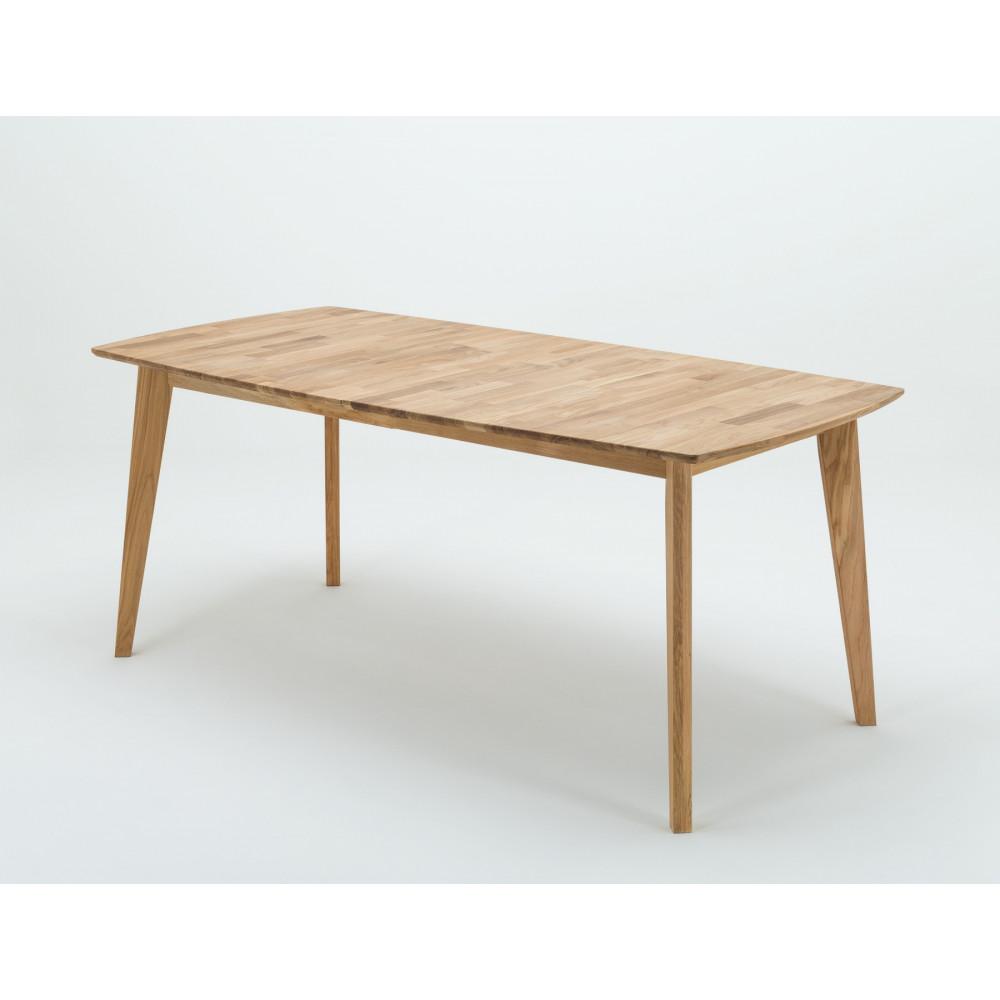 Jannis Esstisch Vierfuß 140x90 Cm Wildeiche Massiv Kaufen Möbel