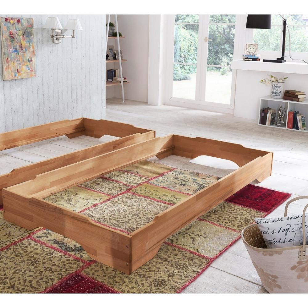 juist stapelbett 100x200 g stebett kernbuche massiv kaufen. Black Bedroom Furniture Sets. Home Design Ideas