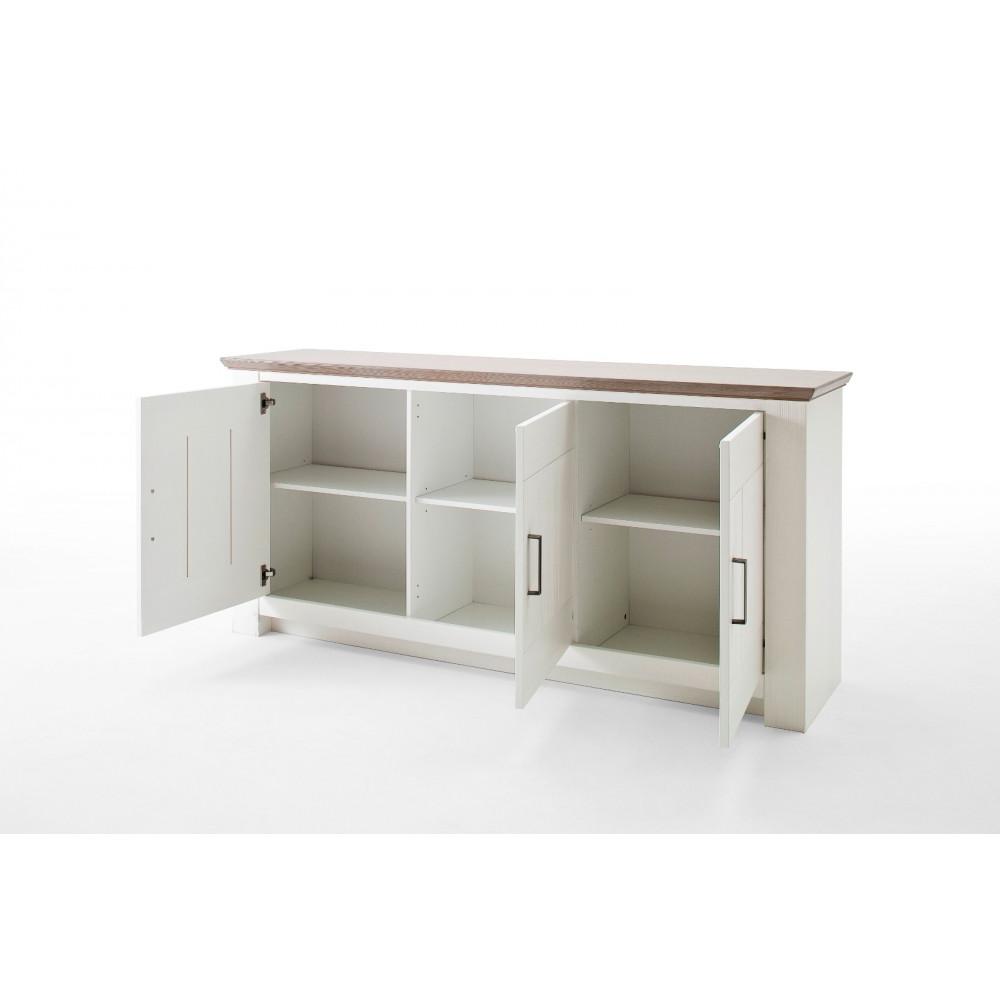 la palma von mca sideboard 3 trg kiefer wei kaufen m bel shop empinio24. Black Bedroom Furniture Sets. Home Design Ideas