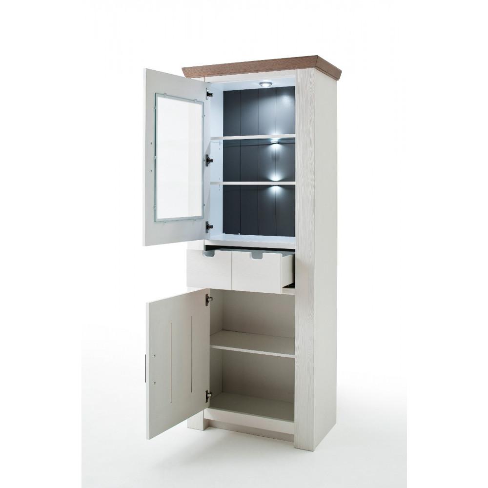 la palma von mca wohnwand nr 2 kiefer wei kaufen m bel shop empinio24. Black Bedroom Furniture Sets. Home Design Ideas