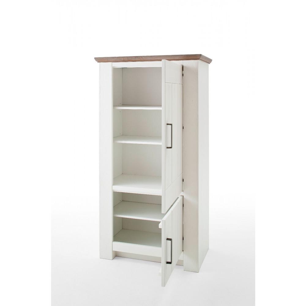 la palma von mca wohnwand nr 1 kiefer wei kaufen m bel shop empinio24. Black Bedroom Furniture Sets. Home Design Ideas