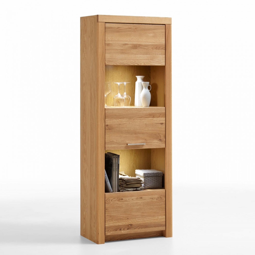 malans vitrine 1 trg asteiche teilmassiv kaufen m bel shop empinio24. Black Bedroom Furniture Sets. Home Design Ideas