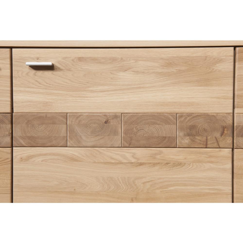 milano highboard 3 trg eiche bianco ge lt teilmassiv kaufen m bel shop empinio24. Black Bedroom Furniture Sets. Home Design Ideas