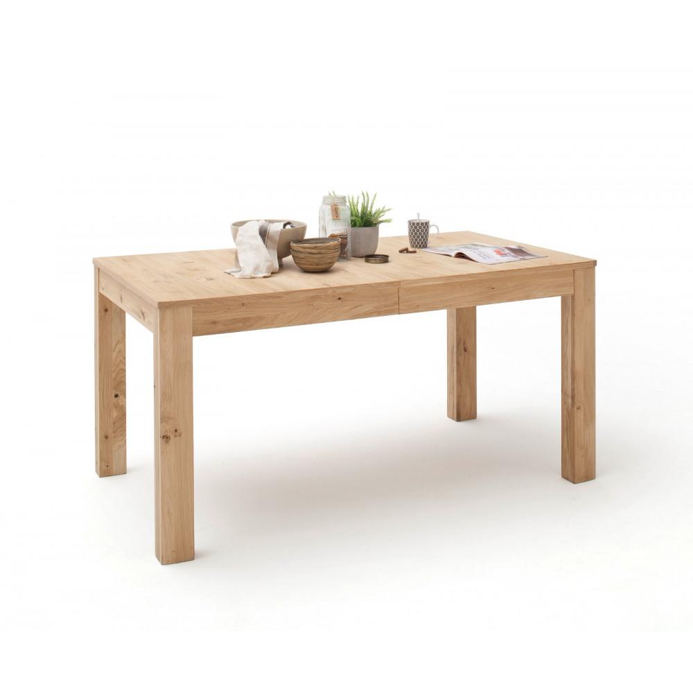 santori von mca esstisch 160x90 cm ausziehbar asteiche bianco kaufen m bel shop empinio24. Black Bedroom Furniture Sets. Home Design Ideas