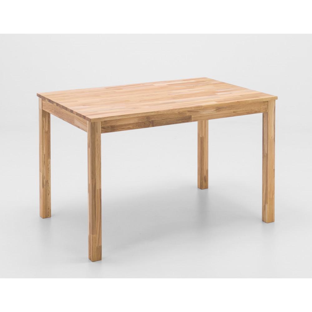 sergio esstisch vierfu 120x80 cm wildeiche massiv kaufen m bel shop empinio24. Black Bedroom Furniture Sets. Home Design Ideas