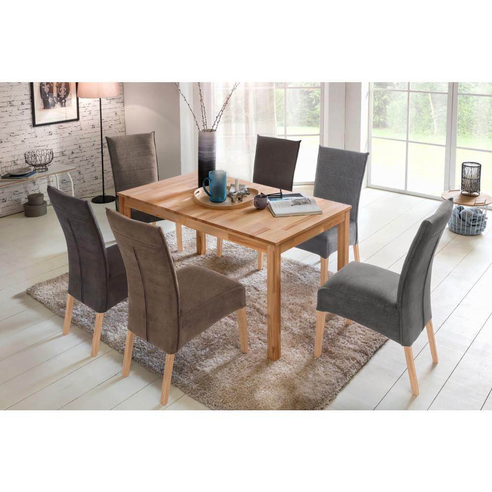 sergio esstisch vierfu 120x80 cm kernbuche massiv kaufen m bel shop empinio24. Black Bedroom Furniture Sets. Home Design Ideas
