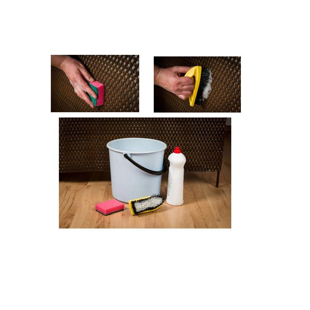 sichtschutzmatte polyrattan 100 cm meterware rostbraun. Black Bedroom Furniture Sets. Home Design Ideas