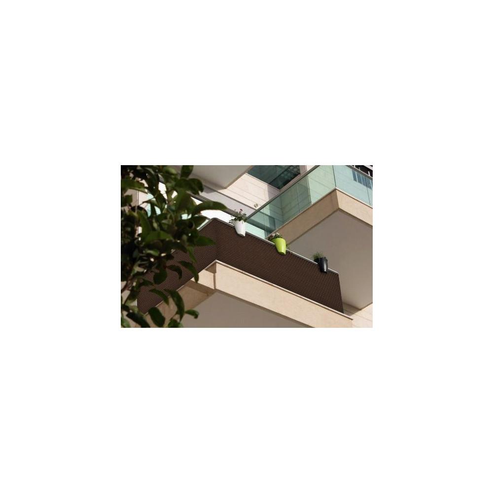 sichtschutzmatte polyrattan 100 cm meterware hellgrau. Black Bedroom Furniture Sets. Home Design Ideas