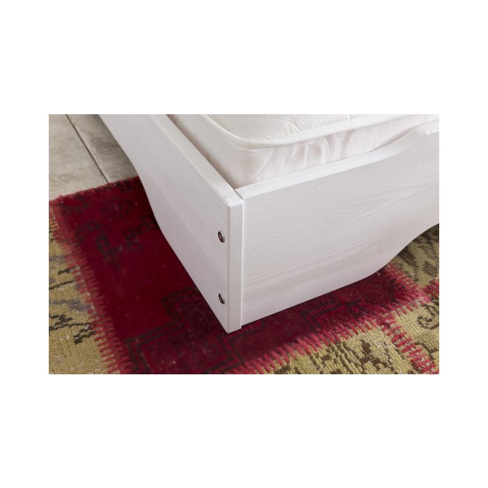 sylt stapelbetten 2x 90x200 kiefer wei 2x matratzen ester h3 kaufen m bel shop empinio24. Black Bedroom Furniture Sets. Home Design Ideas