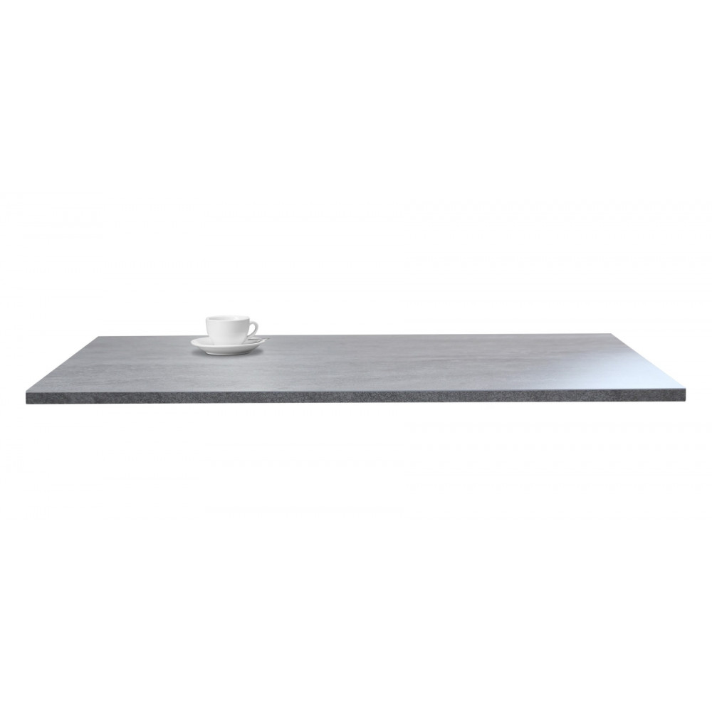 Nizza Gastro Tischplatte Rechteckig 120x80 Cm Beton Optik Kaufen