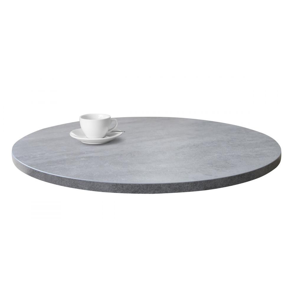 esstisch rund betonoptik