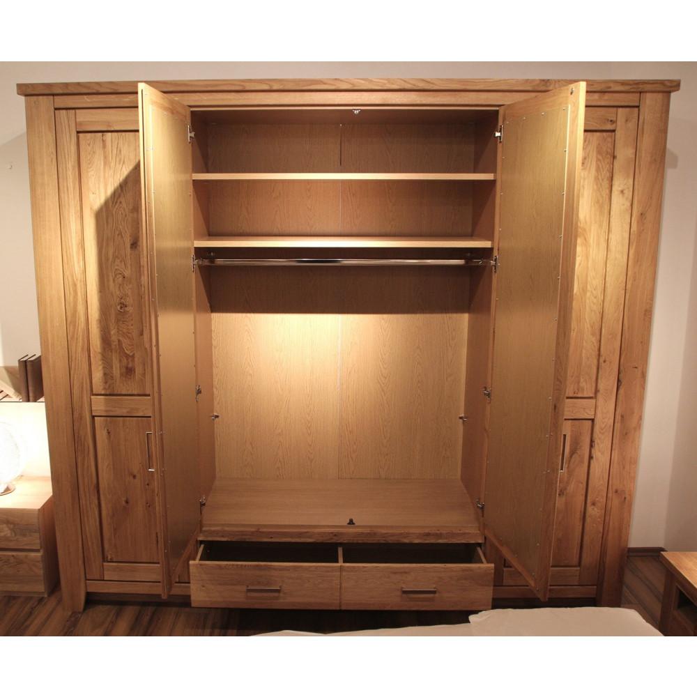 toronto schlafzimmer set schrank 4 trg bett 180x200. Black Bedroom Furniture Sets. Home Design Ideas
