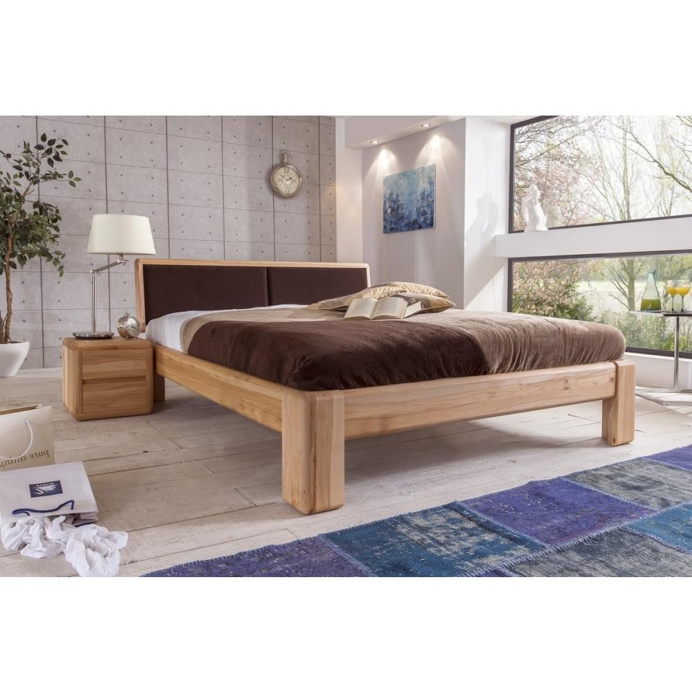 bettgestell 180x200 hoch bett uklarau xcm komforthhe kernbuche gelt with bettgestell 180x200. Black Bedroom Furniture Sets. Home Design Ideas