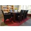 ANATOL XL Sessel Armlehnstuhl Kunstleder Beine aus Buche oder Eiche