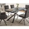 Essgruppe Keramik 7-teilig Tisch Stühle Armlehnstuhl Modena
