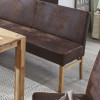 SOPHIE Eckbank 240x240cm in Stoff / Textil aus Buche oder Eiche