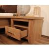 TORONTO Schlafzimmer aus Asteiche Schrank 4-trg Bett 160x200 2 Nakos