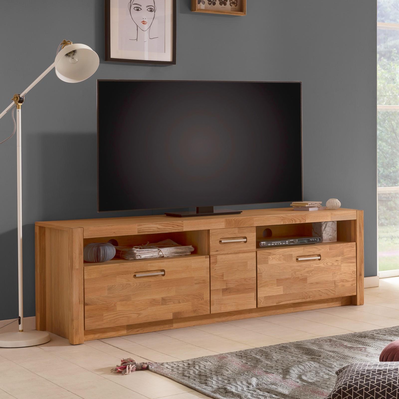 faro tv lowboard 1 trg 185 cm wildeiche teilmassiv
