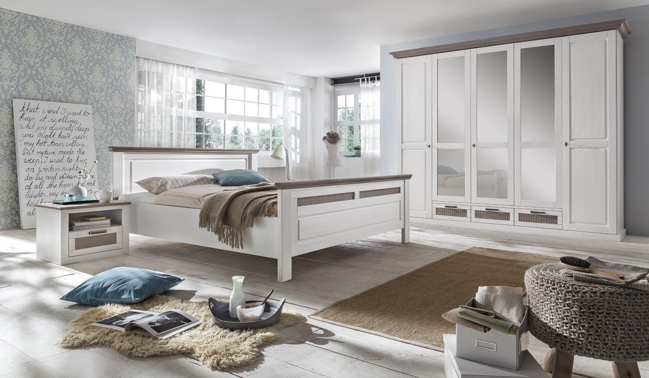pinie-massiver Komplett-Schlafzimmer online kaufen | Möbel ...