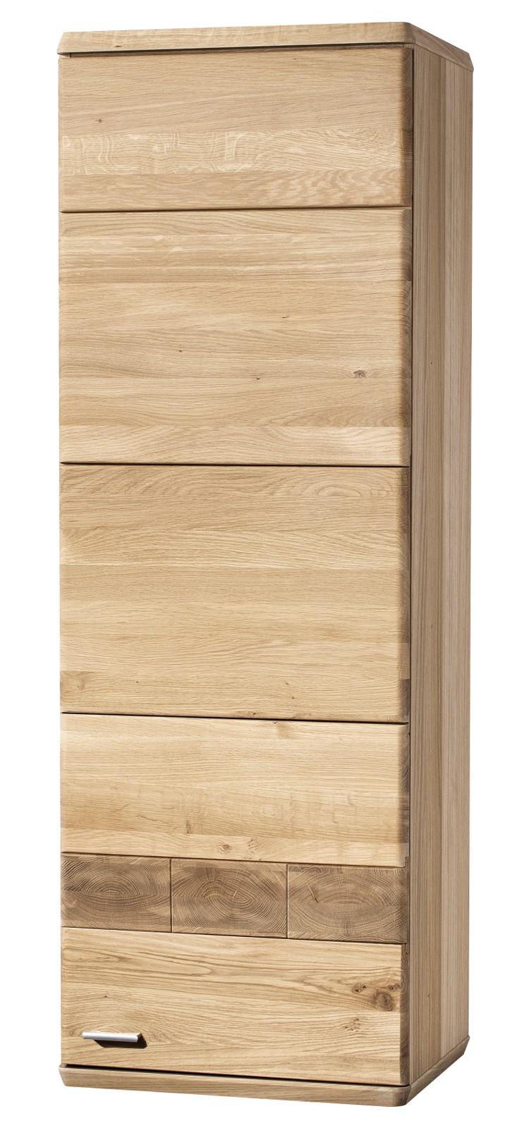 Andere Hängeschrank MILANO  Farbe Natur Eiche, Wildeiche Massivholz / Teilmassiv Breite 48,6 cm